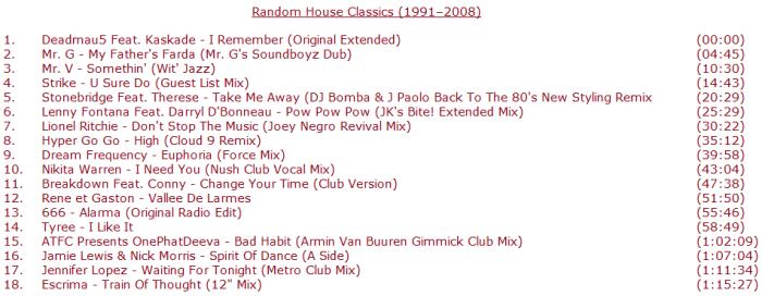 Random House Classics (1991 - 2008)
