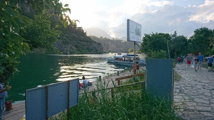 The Dalyan Çayı River