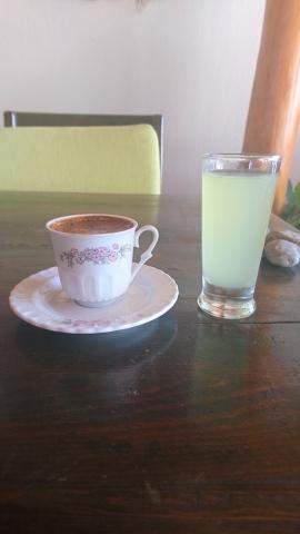 Turkish coffee—a pretty unique experience