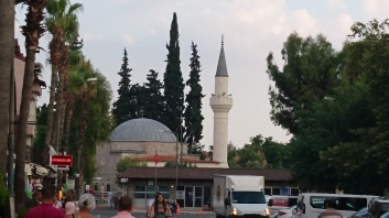 The mosque in Dalyan
