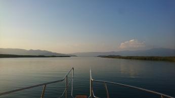 On approach to Köyceğiz Lake