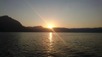 Sunset on Köyceğiz Lake